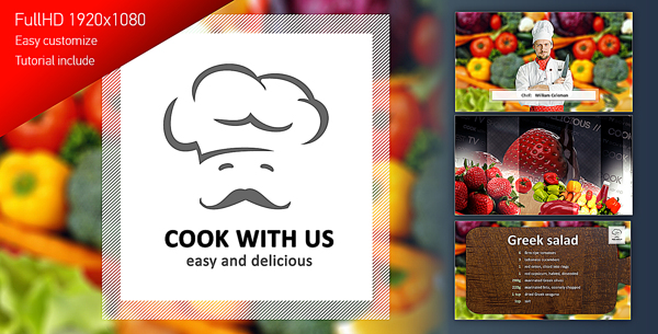 Cook With Us — Cooking TV Show Pack