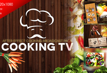 Cooking TV — After Effects Cook Broadcast Pack