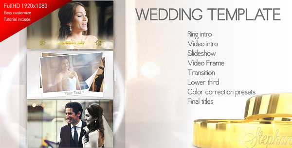 Wedding Mega Pack | AE Template